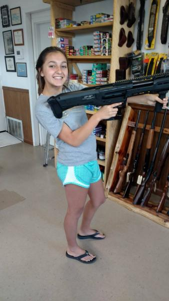 Even Young girls love the DP-12